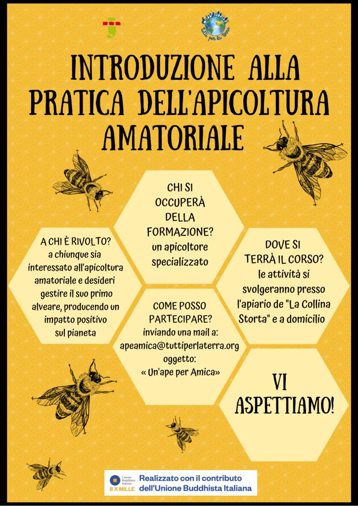 locandina ape amica